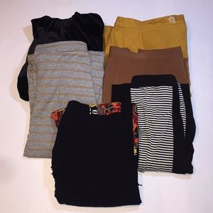 💥LOT OF 6pc WOMENS PLUS SIZE SKIRTS 💥